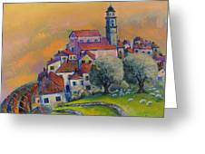 Ville Del Monte Greeting Card