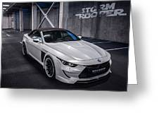 Vilner Bmw M6 E64 Stormtrooper 2014 Greeting Card