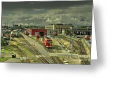 Vilnius Depot  Greeting Card