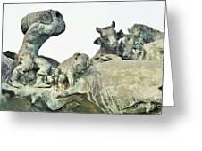 Vilsec Fountain Greeting Card