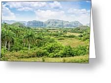 Vinales Valley Greeting Card