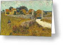 Vincent Van Gogh, Farmhouse In Provence Greeting Card
