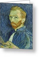 Vincent Van Gogh Self-portrait 1889 Greeting Card