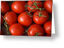 Vine Ripe Tomatoes Fine Art Food Photography Greeting Card