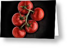 Vine Ripened Tomatoes. Greeting Card