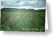 Vineyard Angel Greeting Card