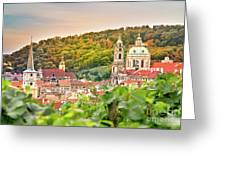 Vineyard Of Prague Greeting Card