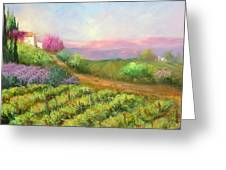 Vineyard Spring Greeting Card