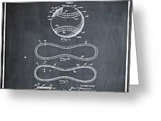 Vintage 1928 Baseball Patent Chalk Greeting Card