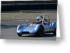 Vintage 1958 Elva Mk5 Greeting Card