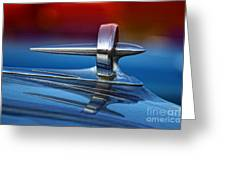 Vintage Buick Hood Ornament Greeting Card