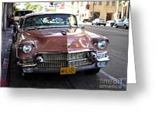Vintage Cadillac. Luxury From The Past Greeting Card