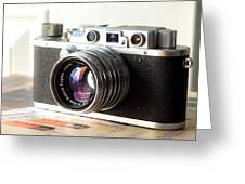 Vintage Camera C10a Greeting Card
