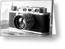 Vintage Camera C10b Greeting Card