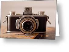 Vintage Camera C10i Greeting Card