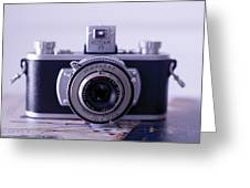 Vintage Camera C10k Greeting Card