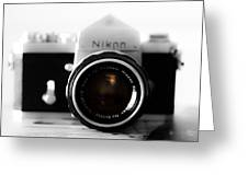 Vintage Camera C20m Greeting Card