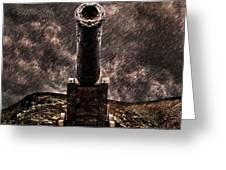 Vintage Cannon Greeting Card