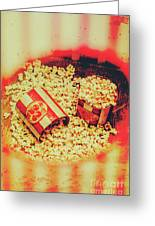 Vintage Carnival Snack Booth Greeting Card