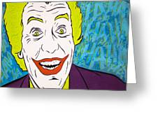 Vintage Cesar Romero's Joker Greeting Card