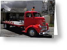 Vintage Chevrolet Truck Greeting Card