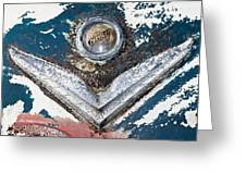 Vintage Chrysler Emblem Greeting Card