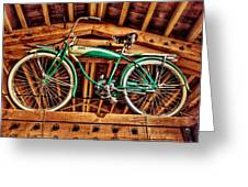 Vintage Cicycle Greeting Card