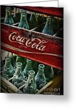 Vintage Coca Cola 1 Greeting Card