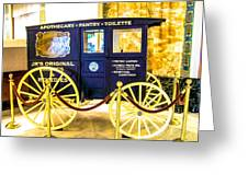 Vintage Delivery Wagon Greeting Card