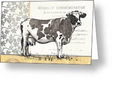 Vintage Farm 4 Greeting Card by Debbie DeWitt