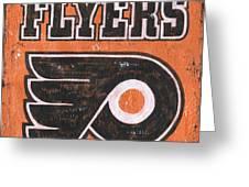 Vintage Flyers Sign Greeting Card