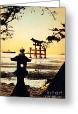 Vintage Japanese Art 23 Greeting Card