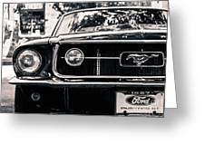 Vintage Mustang Greeting Card