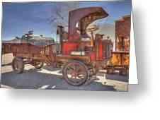 Vintage Packard Truck Greeting Card