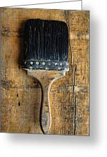 Vintage Paint Brush Greeting Card