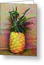 Vintage Pineapple Greeting Card