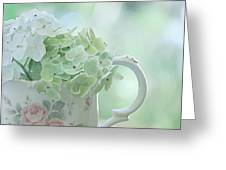 Vintage Pitcher Greeting Card