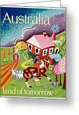 Vintage Poster - Australia Greeting Card