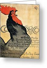 Vintage Poster - Cocorico Greeting Card