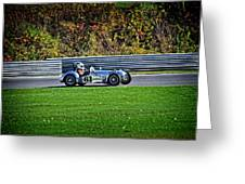 Vintage Racer 61 Greeting Card