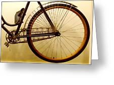 Vintage Remington Bike Greeting Card