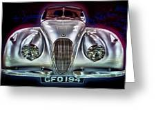 Vintage Speedster Greeting Card