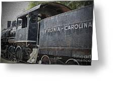 Vintage Train Greeting Card