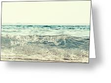 Vintage Waves Greeting Card