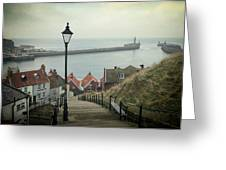 Vintage Whitby Greeting Card