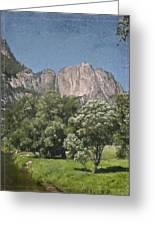 Vintage Yosemite Greeting Card