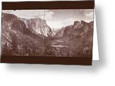 Vintage Yosemite Valley 1899 Greeting Card