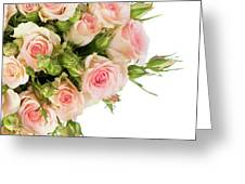 Bouquet Of Garden Roses Greeting Card