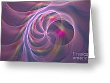 Violet Dreamy Feel Greeting Card