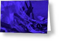 Violet Shine I I Greeting Card